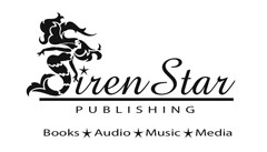 Siren Star Publishing - Books-Audio-Music-Media - black mermaid logo